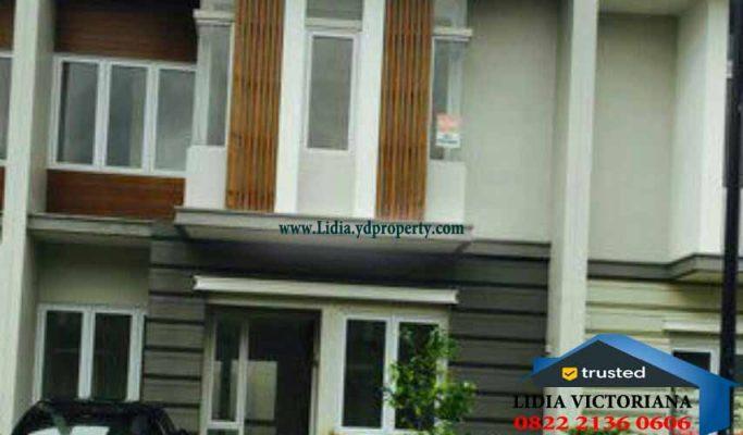 Dijual Rumah Terawat 2 Lantai Rumah Kota Wisata Cibubur | Hub Lidia : 0822 2136 0606