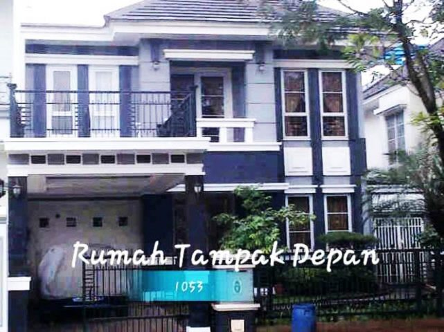Rumah 2 lantai siap pakai mewah di kota wisata cibubur (1)