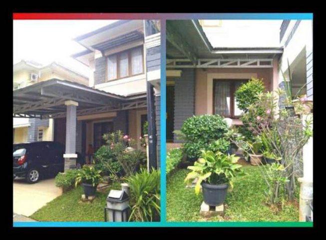 rumah dijual cepat 2 lantai terawat siap huni di kota wisata cibubur (1)
