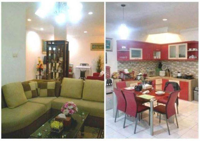 rumah dijual cepat 2 lantai terawat siap huni di kota wisata cibubur (6)