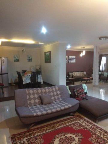 rumah siap huni 2 lantai terawat asri di kota wisata cibubur (2)
